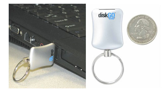 Edge Tech DiskGO Clé USB Go Porte Clés - Porte clé usb