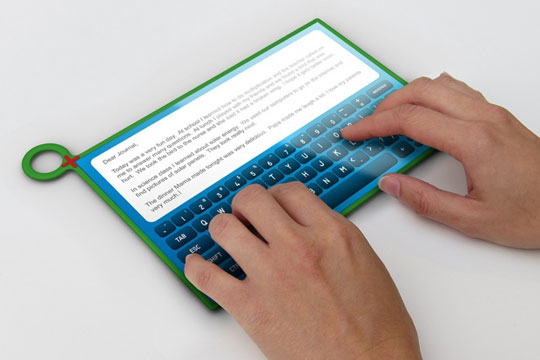 OLPC Tablettes Multi-Touch et clavier MeeGo