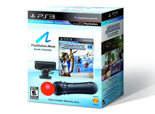 Bundle Sony Playstation Move PS3