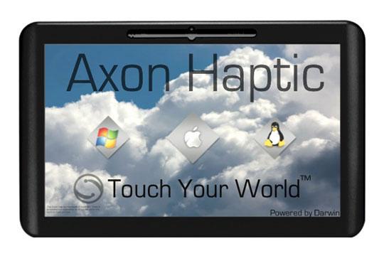 """Tablette 10"""" sous OS Darwin (OS X et UNIX)"""