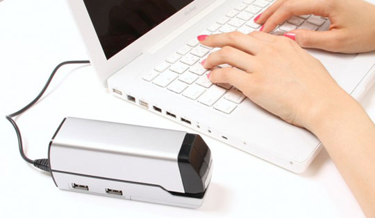 Avec HUB USB 4 ports intégré