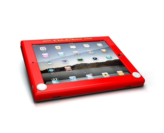 Etch A Sketch ou comment transformer iPad en écran magique