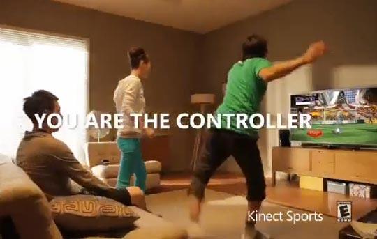 kinect xbox360 pub tv Kinect XBox 360: Nouvelles PUB TV en Vidéo