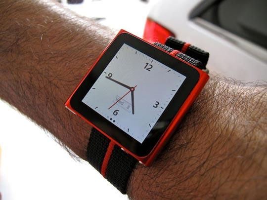 transformer iPod Nano 6G en montre