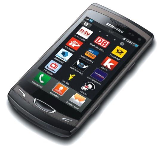 Nouveau smartphone sous OS Bada avec écran Super Clear LCD 3.7 pouces