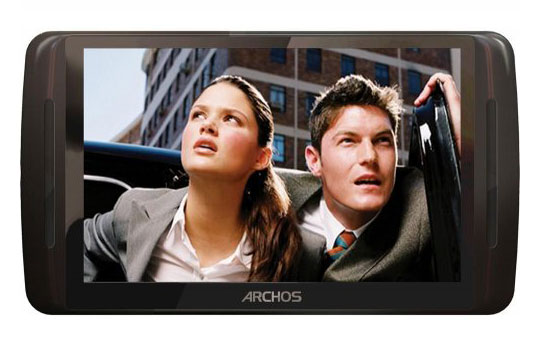Nouveau baladeur audio-video Archos 50 Vision
