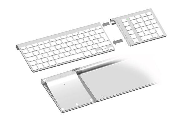 LMP KeyPad pour clavier bluetooth Apple