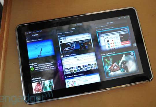 Tablette sous OS MeeGo Nokia Z500