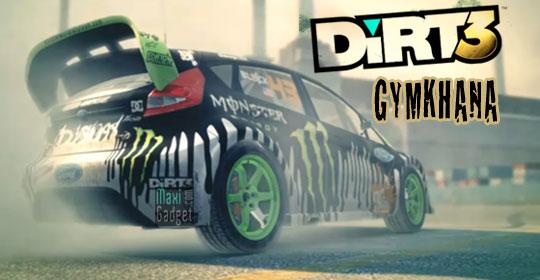 Nouveau Trailer Video du jeu Dirt 3 en mode Gymkhana