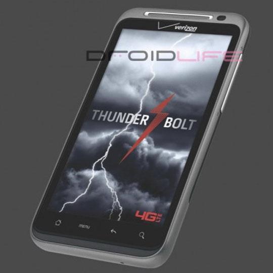 HTC Thunderbolt aka Droid Incredible HD aka Mecha