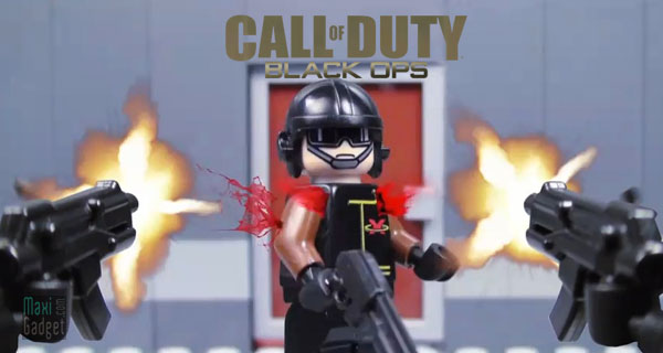 version lego de COD Black Ops en stop motion (animation video)