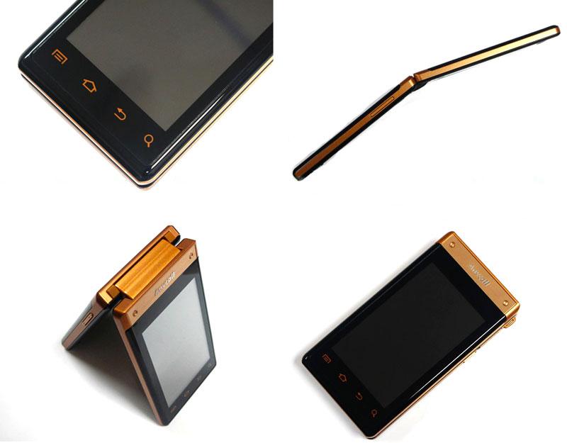 samsung w899 2 premier mobile tactile à clapet sous Android avec double écran Super AMOLED 3.3