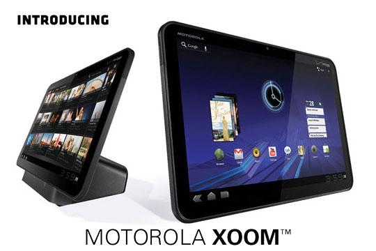 video clip promotionnel pour la tablette Motorola Xoom