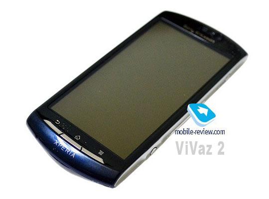 sony ericsson MT15i aka Vivaz 2 nouveau smartphone sous android gingerbread