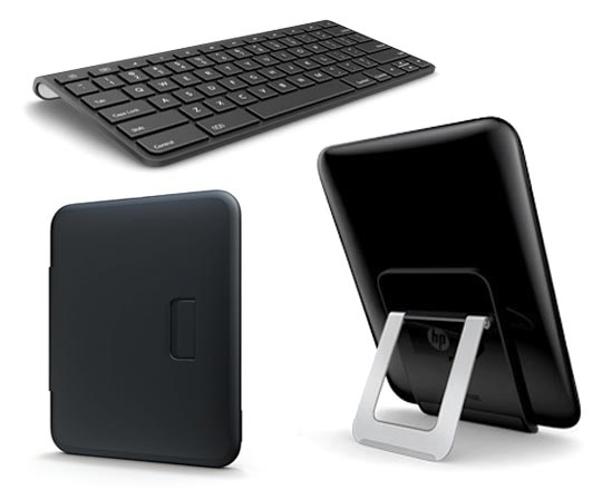 HP TouchPad accessoires1 HP TouchPad: Tablette 9.7 Multi Touch sous webOS en Video