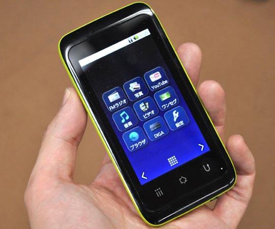 nouveau PMP sous Android 2.1 chez Panasonic (rreference SV-MV100)