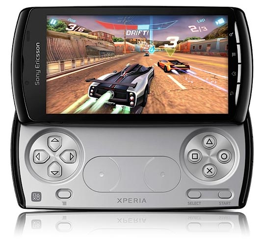 gros hits en demonstration video sur le sony ericsson Xperia Play (PSP Phone, Playstation Phone)