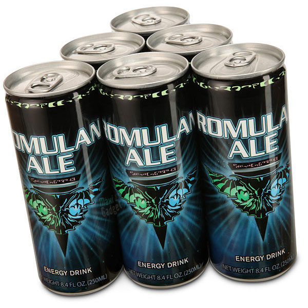 Star Trek Romulan Ale Energy Drink pack Star Trek Romulan Ale Energy Drink: Boisson pour Geeks