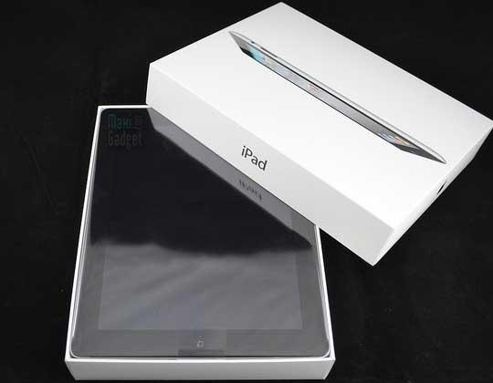 tablette Apple iPad 2 déballée et démontée en video