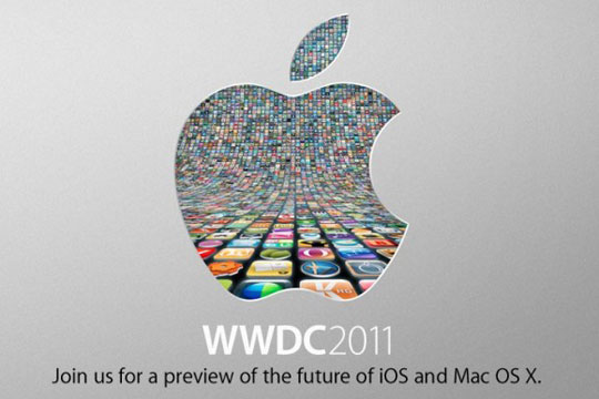 conference de presse Apple au WWDC 2011 pour le lancement de l'iPhone 4 et iOS 5