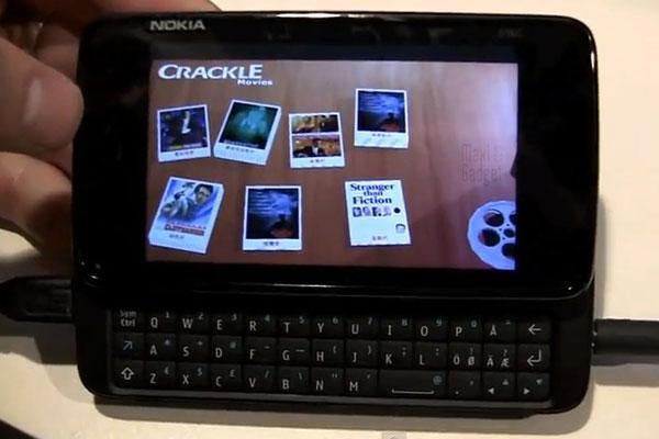 iXonos a developpé une interface 3D pour OS MeeGo testée sur Nokia N900