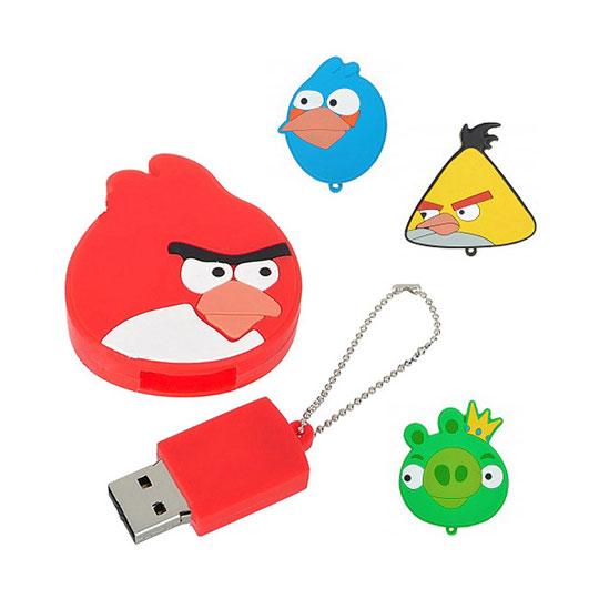 cles USB à l'effigie des ANGRY BIRDS de 2Go à 8Go
