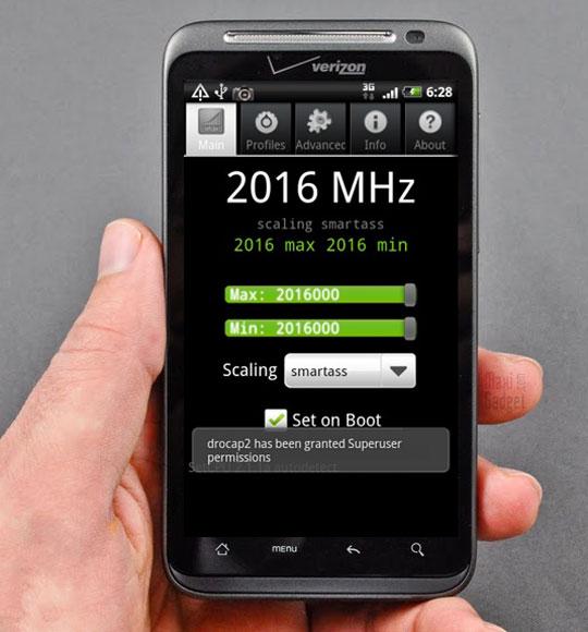 le nouveau HTC Thunderbolt 4G passe a la vitesse superieure avec un processeur à 2Ghz