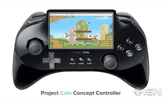 future console nintendo Wii 2 avec nouvelle manette a LCD tactile