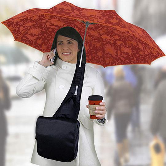 umbrella messenger bag: nouveau sac parapluie