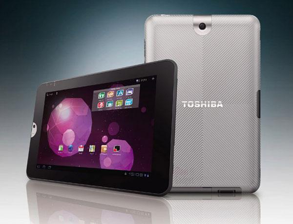 """nouvelle tablette 10.1"""" sous android honeycomb avec processeur tegra 2 chez toshiba"""