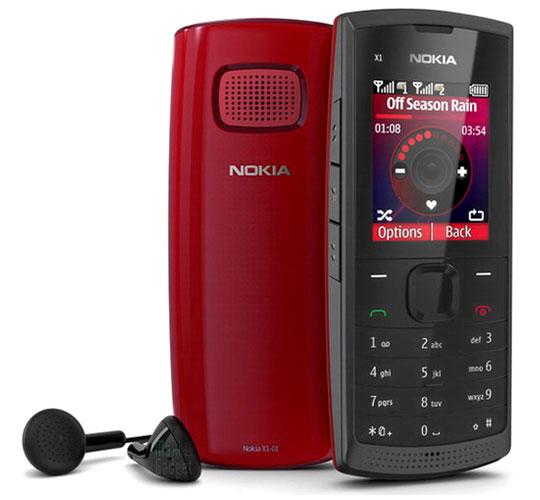 nouveau nokia X1-01 avec support double cartes SIM pas cher (39€)