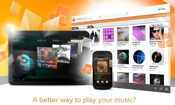 nouveau service de streaming et stockage de musique en ligne par Google