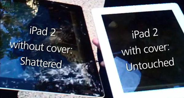 drop test video ipad 2 with smart cover: un etui qui protege vraiment iPad 2