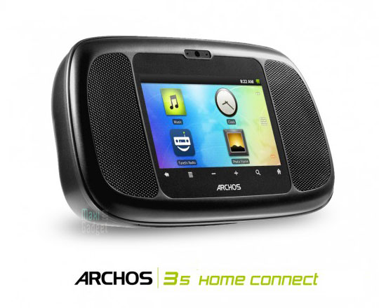 archos 35 home connect officiel Archos 35 Home Connect: Radio Reveil Android Internet Camera
