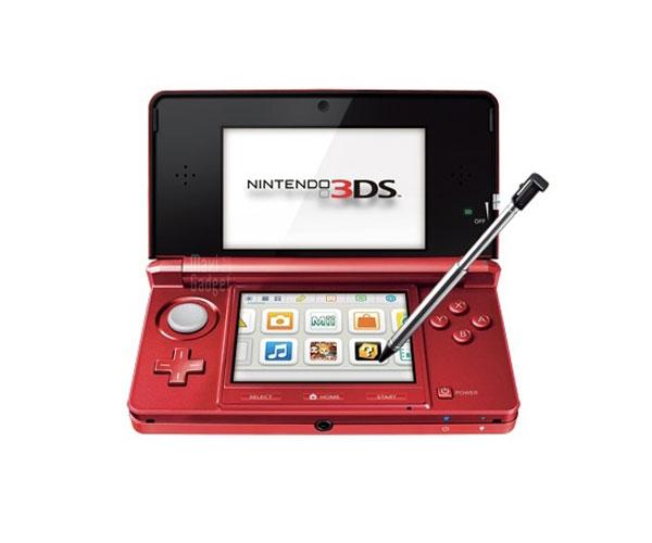nouveau coloris pour la console nintendo 3DS qui passe au rouge