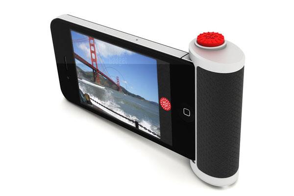 ajoutez un vrai bouton a votre iphone 4 pour prendre des photos avec red pop
