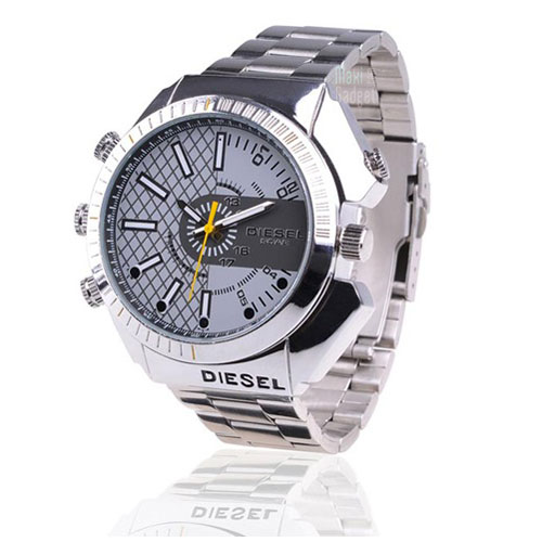 Montres, la marque du temps et de la personnalité Spy-watch-montre-camera-hd-waterproof-infrarouge-silver
