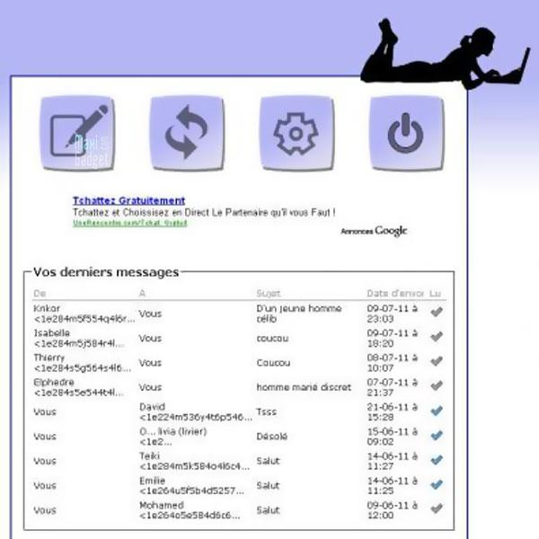 rencontre gratuite par email anonyme sur mailroulette.org