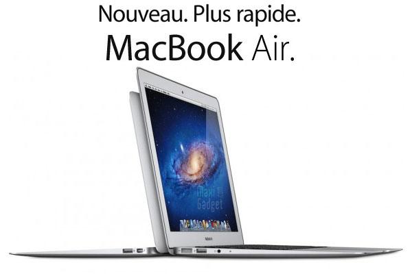 nouveau macbook air 2011 avec processeur core i5 i7 port thunderbolt clavier rétroéclairé
