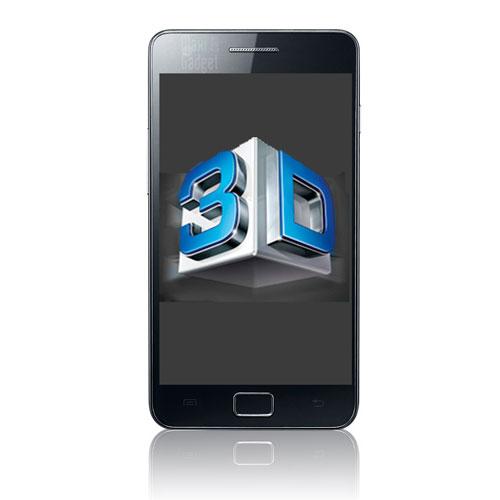 en route vers un Samsung Galaxy S2 avec technologie 3D