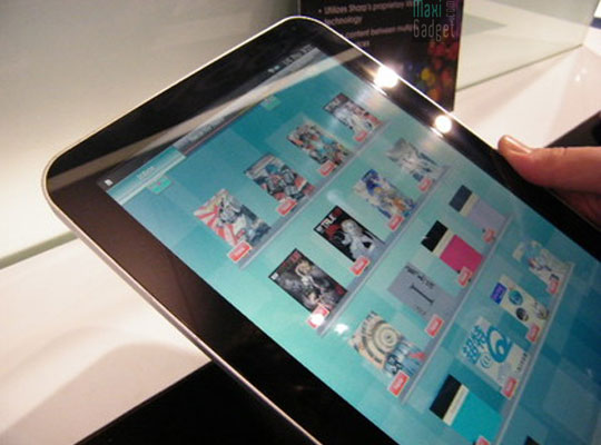 tablettes android sharp galapagos 7 et 10 pouces en 2011