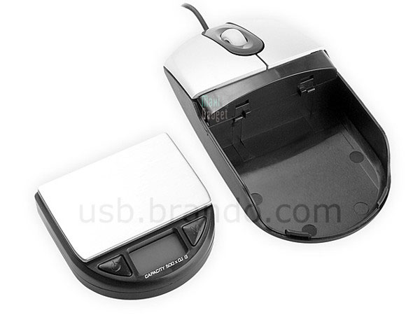 Gadget USB Insolite: Pse-Lettre dans une Souris Optique