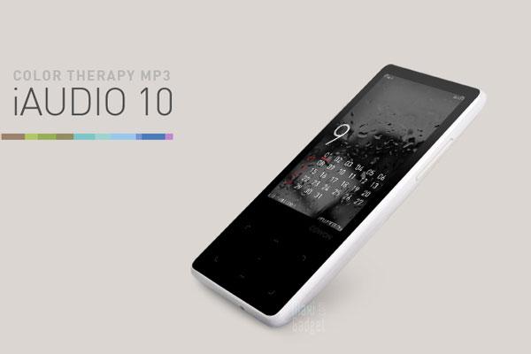 nouveau baladeur tactile blanc 3 pouces avec 32go chez cowon modele iaudio 10