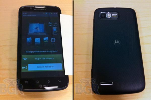 nouveau motorola atrix 2 pour fin 2011 avec processeur dual core 1.5ghz, android 2.3.5