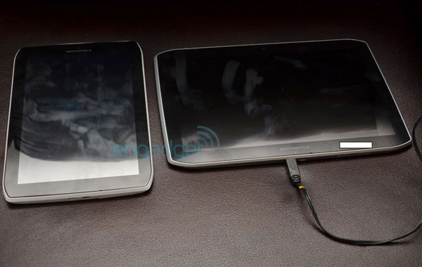 photo live des tablettes motorola xoom 2 media edition (8 et 10 pouces)