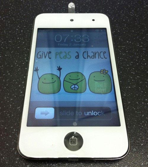 nouvelle rumeur sur le prochain apple ipod touch 5g: dispo en blanc courant octobre