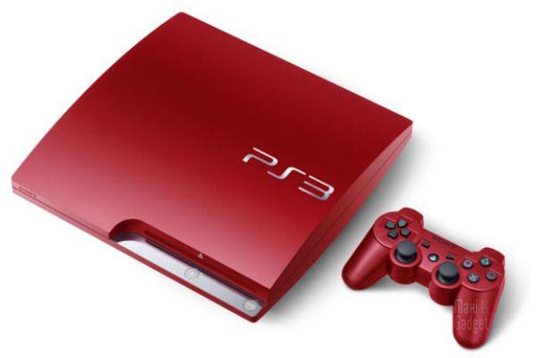 nouvelle couleur rouge pour la ps3 slim 320GB