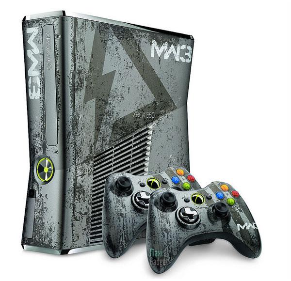 nouveau pack collector 2011 avec xbox 360 jeu call of duty modern warfare 3 deux manettes