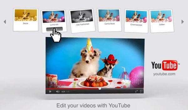 le montage pour les nuls sur youtube avec google