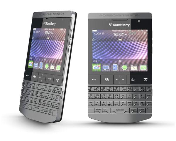 photo officielle nouveau blackberry porsche design p9981